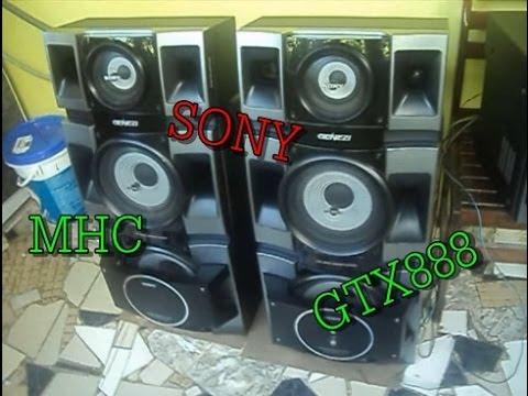 SONY MHCGTX888  ESSE TOCA MUITO!  YouTube