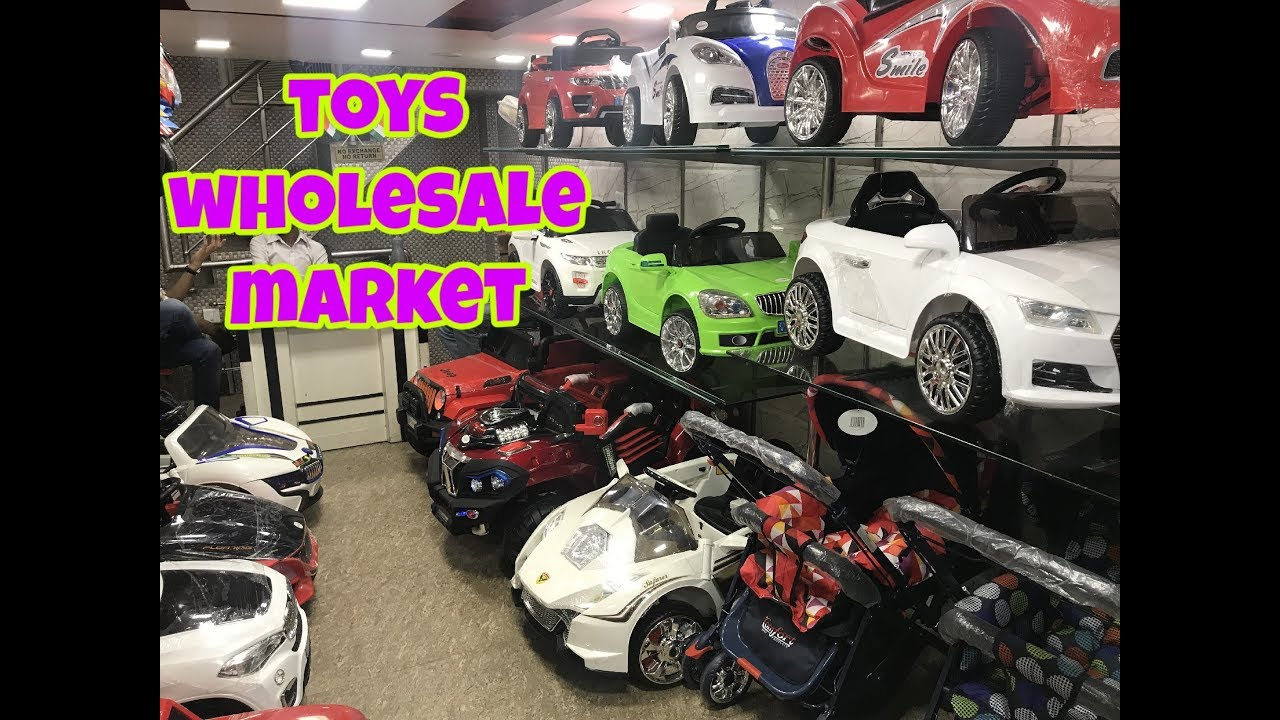 Electric Kids Cars >> TOYS WHOLESALE MARKET,(BATTERY OPERATED CARS,BIKES AND STROLLERS) FOR KIDS ,JHANDEWALAN TOY ...