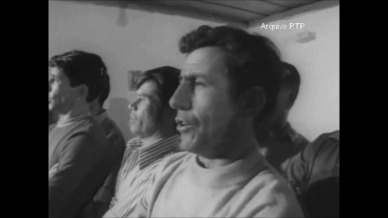 O Grupo Coral do Sindicato Mineiro de Aljustrel - Ano 1973
