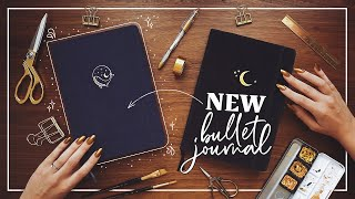 Starting a New Bullet Journal  |  2020 Half-Year BuJo Set Up