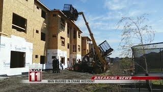 Construction Worker Injured in Crane Accident