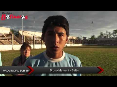 Provincial Sub 15: Bruno Mamaní - Belen