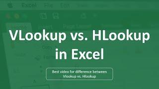 How to use VLOOKUP vs HLOOKUP in Excel | Hlookup Formula