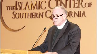 ed bacon at the islamic center of southern california april 17 2016
