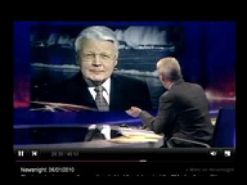 BBC Newsnight interview with Ólafur Ragnar Grímsson