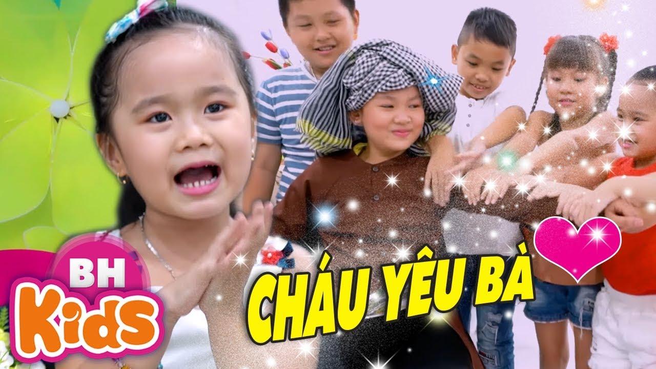 Cháu Yêu Bà ✿ Bà Ơi Bà ♫ Nhạc Thiếu Nhi Bé MinChu – Thần Đồng Âm Nhạc Nhí Việt Nam