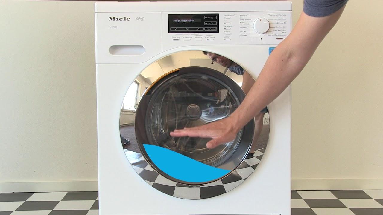 Geliefde Hoe kun je... de deur ontgrendelen van de wasmachine - YouTube CH98