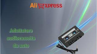 Aliexpress unboxing acquisti (32) - Adattatore mp3 auto (audiocassetta / car audio cassette adaptor)