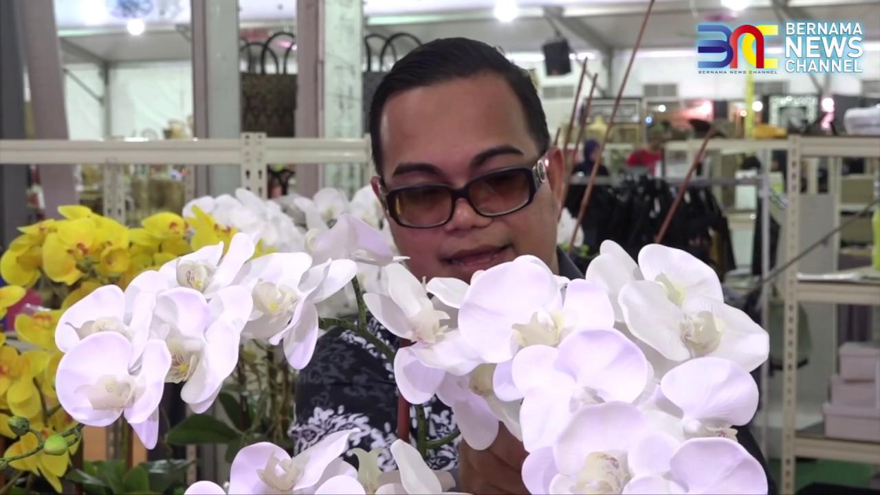 Nine11 Segmen Jom Tutorial Gubahan 3 Tangkai Orkid Youtube