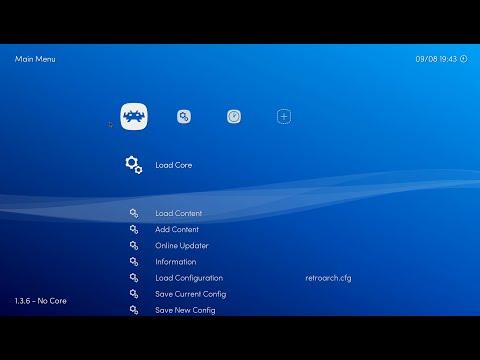 Configuración Básica De RetroArch V1.3.6