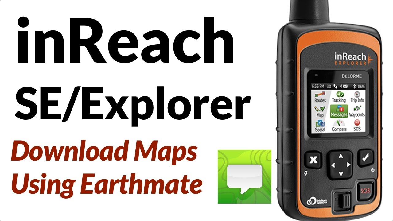 DeLorme InReach Explorer - YouTube