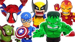 Marvel Avengers Motorized Twist! Defeat tree monster! #DuDuPopTOY