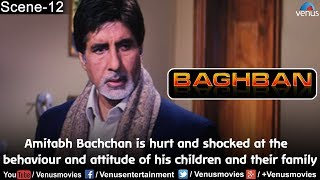 Amitabh Bachchan is hurt and shocked at the behaviour and attitude of his children and their family