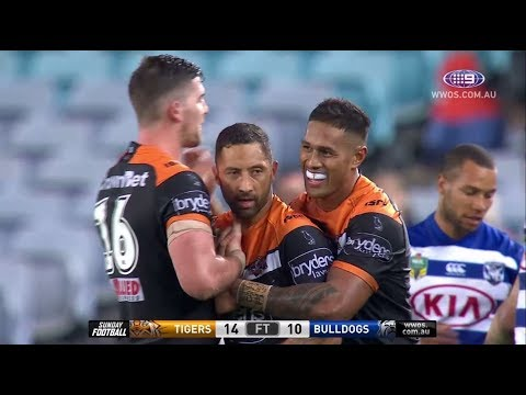 NRL Highlights: Wests Tigers v Canterbury Bulldogs - Round 12