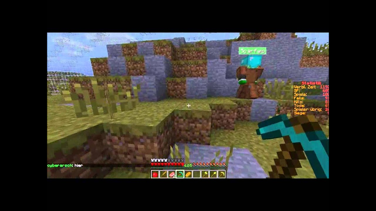 Lets Play Together Minecraft Hunger Games WiN YeaH - Minecraft hunger games spiele