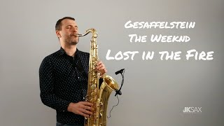 Gesaffelstein The Weeknd Lost in the Fire JK Sax Cover.mp3