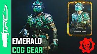 EMERALD GEAR GAMEPLAY! - Gears of War 4 Multiplayer Character Gameplay (GOW4 EMERALD GEAR)