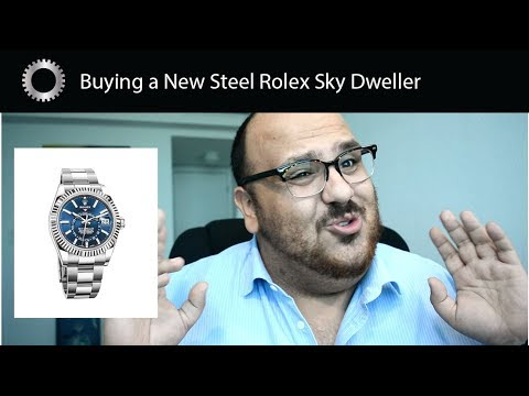 Buying A New Rolex Sky Dweller in Steel - Hard To Get ? Federico Talks Watches
