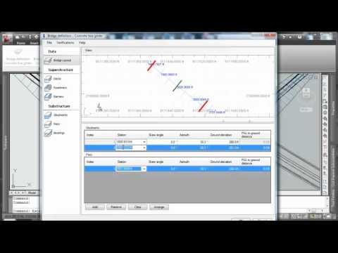 how to create a bridge on civil 3d