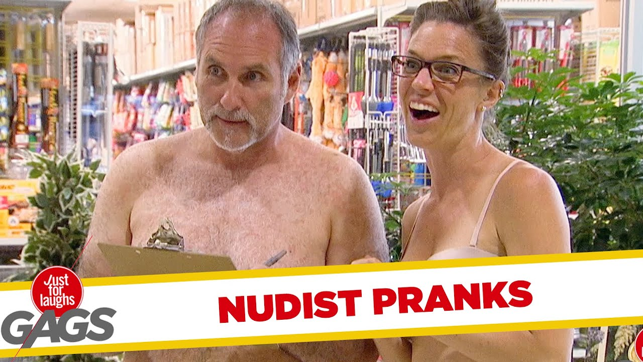 Funny Adult Sexy Video nudist pranks - best of just for laughs gags | just for laughs