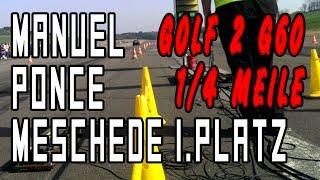 Manuel Ponce - Golf 2 G60 - Meschede 2014 1/4 1.Platz | THEIBACH-PERFORMANCE
