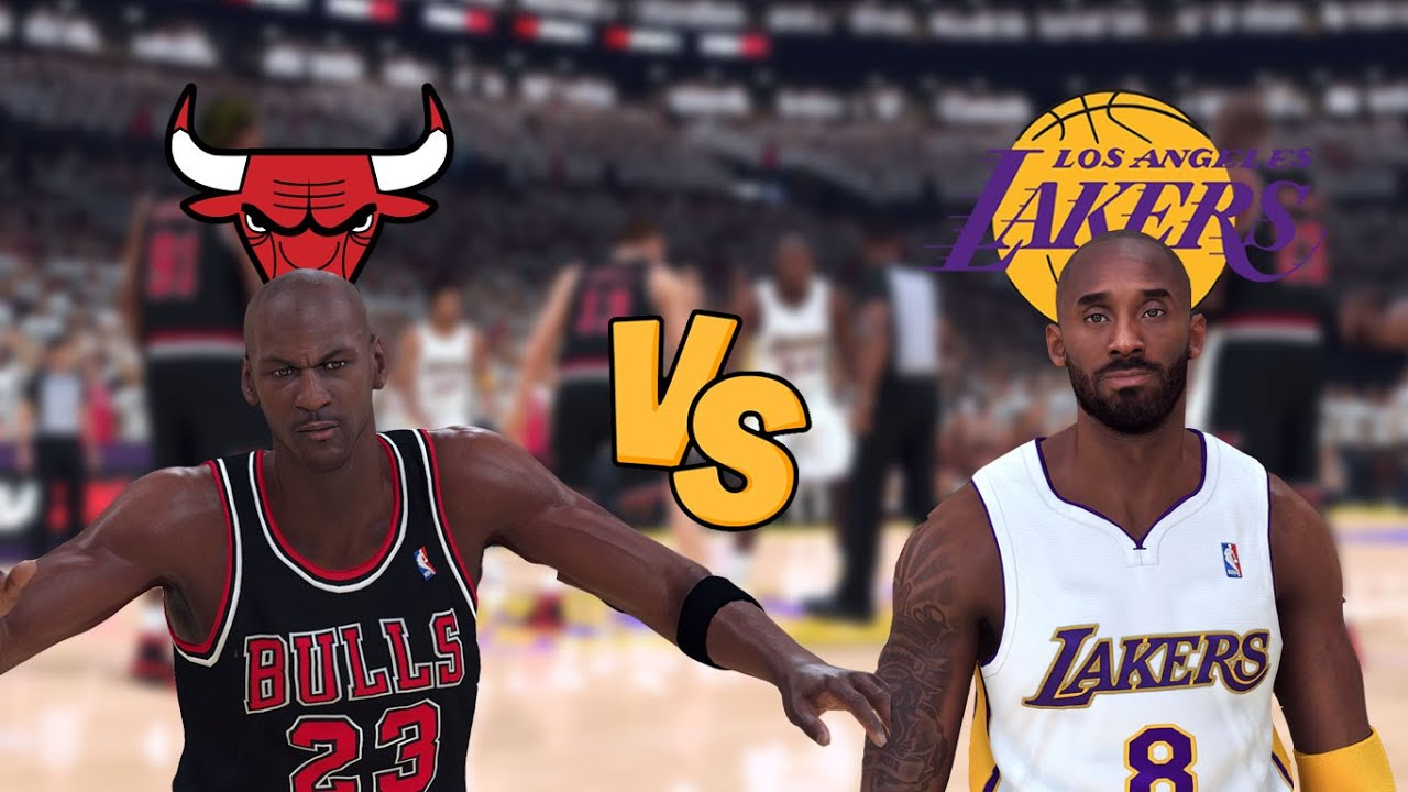 95-'96 Chicago Bulls vs. '03-'04 Los Angeles Lakers - Game 2 - Finals - NBA  2K20 - YouTube