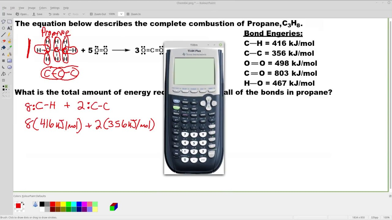 how to calculate propane