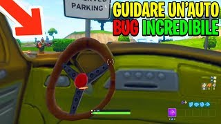 HOW to GUIDE THE AUTO ON FORTNITE!!! 😱 BUG INCREDIBILE!!