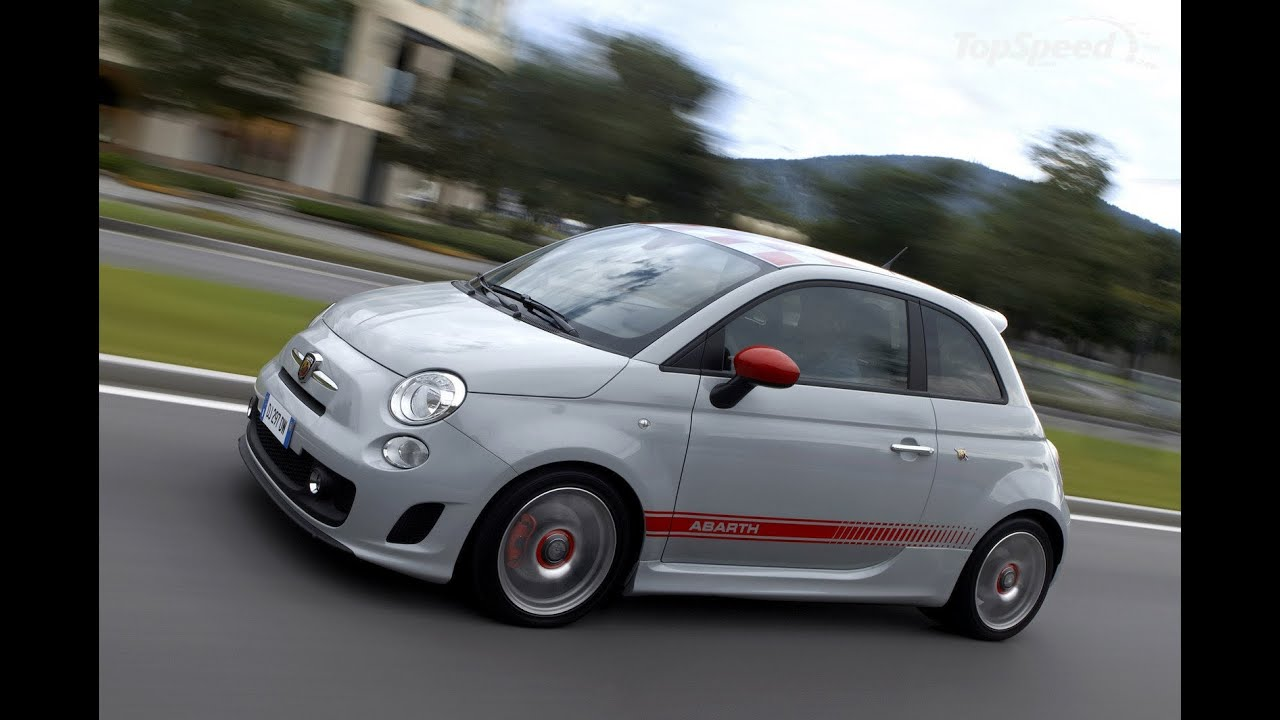 Fiat 500 Abarth Akrapovic Exhaust Sound Youtube