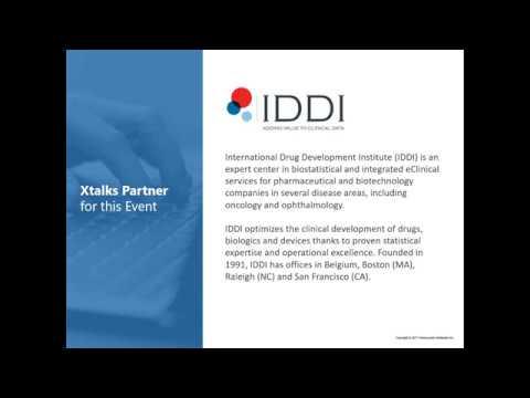 IDDI WEBINAR: Incorporating HTA in clinical trials