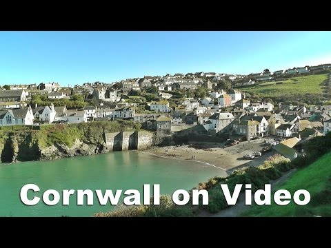 Port Isaac, Padstow, Boscastle and Tintagel - North Cornwall on Video