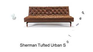Tufted Sectional Sleeper Sofa - Queen Futon Sleeper Sofa