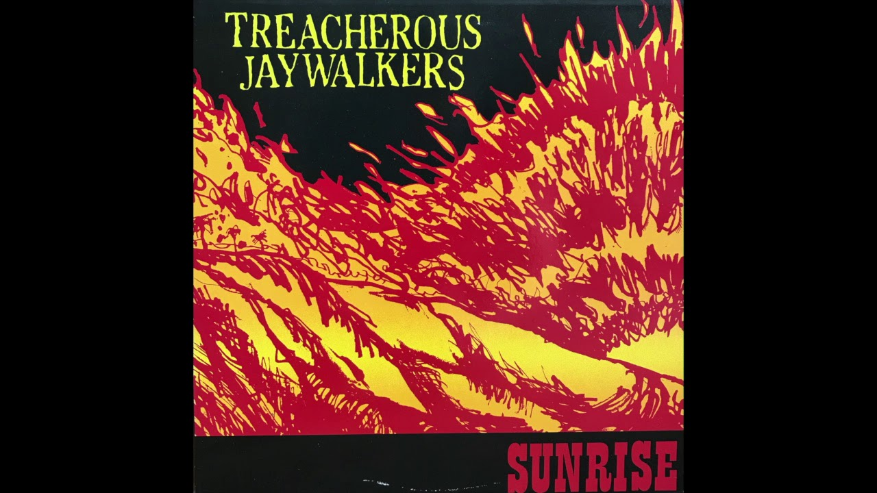 "Treacherous Jaywalkers - Sunrise EP - ""Helicopters In The Sunrise"" - 1988 - SST Records"