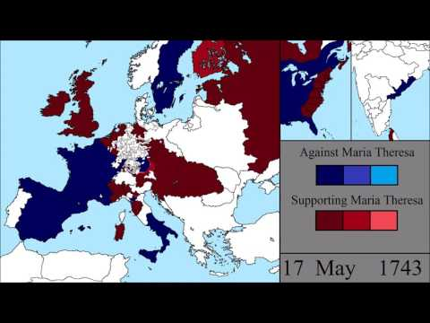 The War of the Austrian Succession: Every Week