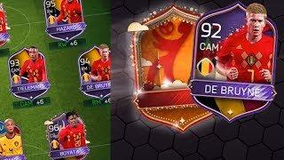 Our Best FIFA Mobile World Cup Campaign Rewards Yet! MOTM Pull! Belgium Tier Rewards!
