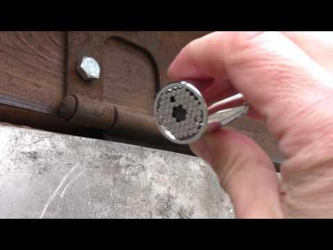 Универсальный гаечный ключ, головка, насадка
