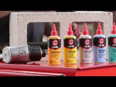 3-IN-ONE Specialty Drip Oils Provide the Exact Lubricant For Each Job