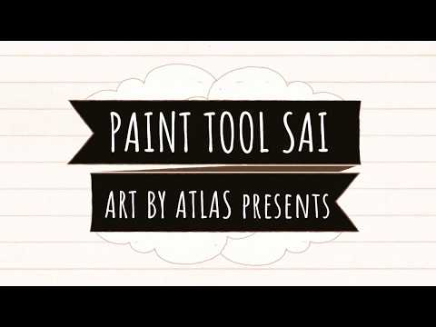 PAINT TOOL SAI Program Demo | How To Use Photoshop Alternative | Getting Started in Digital Art