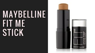 Maybelline Fit Stick Foundation For Dark Skin tone | 330 toffee
