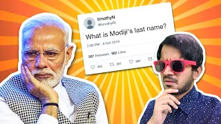 What is Modiji's last name ??? 🤔🤔🤔