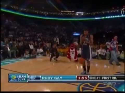 Rudy Gay Dunk Contest 83
