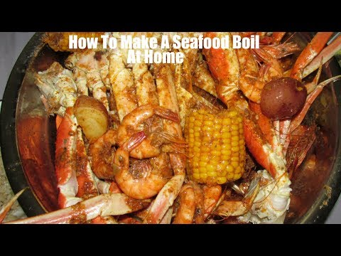 How To Make Seafood Boil At Home Plus Beloves Sauce/ Smackalicious  Boiling Crab Sauce