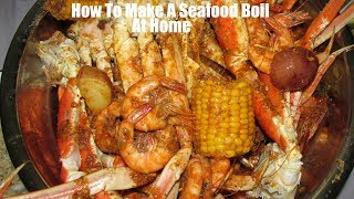 How To Make Seafood Boil At Home Plus Beloves Sauce Boiling Crab Sauce