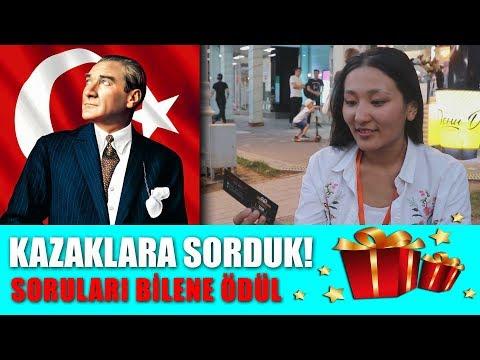 Kazaklara Türkiye'nin Kurucusunu Sorduk | BİLENE ÖDÜL #1