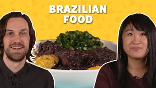 We Tried Popular Food from Brazil | TASTE TEST