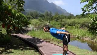 Uttanasana - Standing forward bend (Sequence 1)