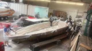 Boats unlimited 29 Vacuum Bagging