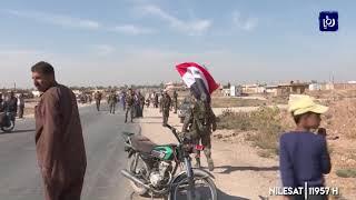 الجيش السوري ينشر قواته على طول الحدود مع تركيا بعد التوصل إلى اتفاق مع الأكراد (14/10/2019)