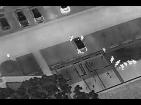 Aerial Thermal UAV/DRONE Video