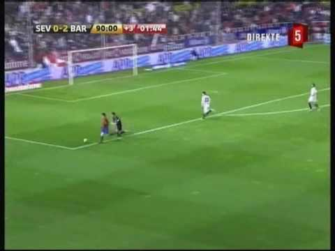 FC Barcelona - All Goals Scored In La Liga 2008/2009 First Part Of The Season (59 Goals)
